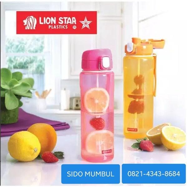 Botol Minum Plastik Infuser Champ Bottle 820 ml Lion Star