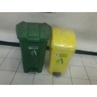 Distributor Tong Tempat Sampah Plastik Pedal Injak Kamar Rumah Sakit Kelas Sekolah Green Leaf Maspion Lucky Star Lion Star 3