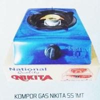 Kompor Gas Nikita Stainless Steel 1
