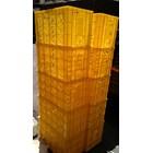Keranjang Krat Container Industri Panen Tani Ikan Kebun Lubang Neo Box Garuda Mas Skyeplas JL Rabbit WS 3