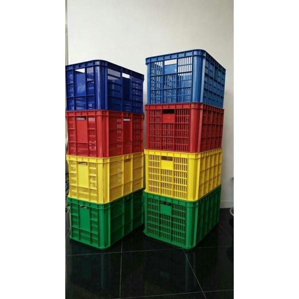 Keranjang Krat Container Industri Panen Tani Ikan Kebun Lubang Neo Box Garuda Mas Skyeplas JL Rabbit WS