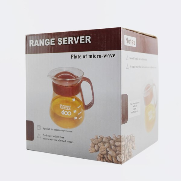Pembuat Kopi Coffee Range Server 600Ml Black