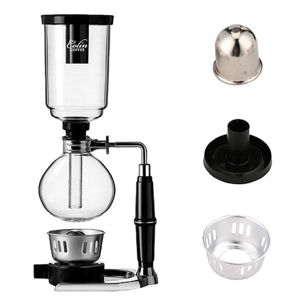 Pembuat Kopi Coffee Syphon TCA-5 5 Cups Tahan Panas