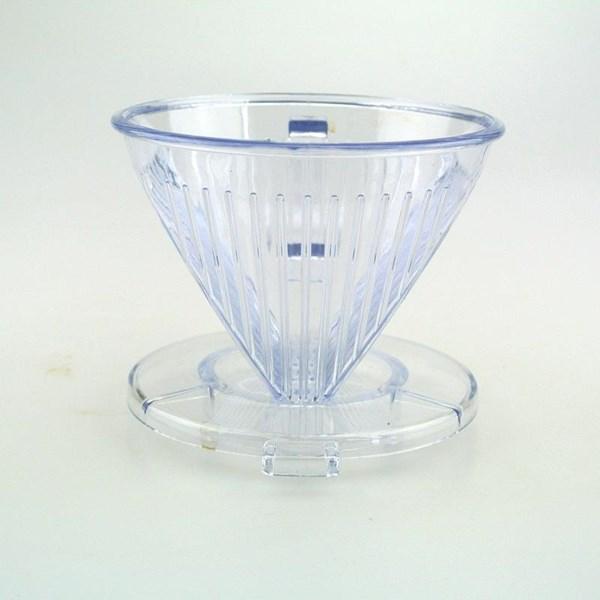 Pembuat Kopi Dripper 101 Acrylic Transparant
