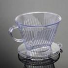 Pembuat Kopi Dripper 102 Acrylic Transparant 4