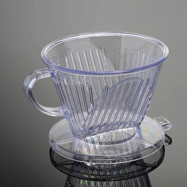 Pembuat Kopi Dripper 102 Acrylic Transparant