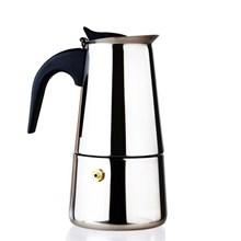Moka Pot coffee maker 6 Cups Full Stainless