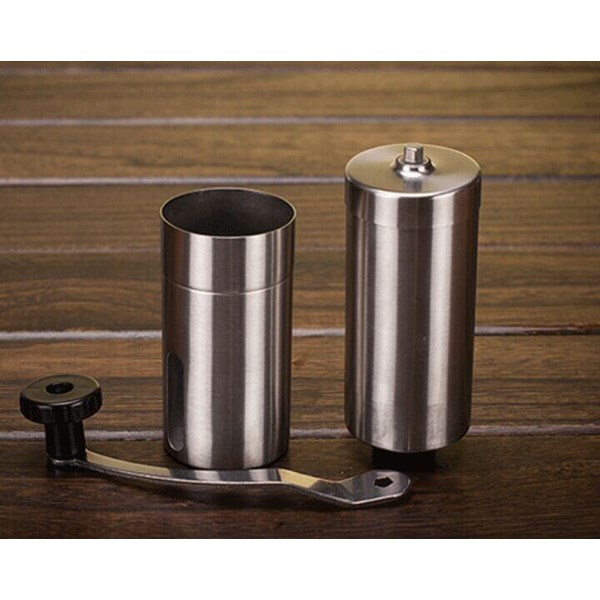 Pembuat Kopi Hand Grinder Full Stainless Ceramic Burr Ukuran XL