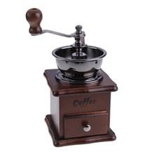 Hand Coffee Grinder Grinder Wood Ceramic Burr