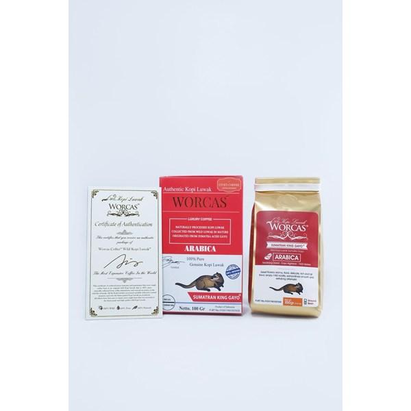 Minuman Kopi Kopi Luwak Sumatran King Gayo 100gr Beans