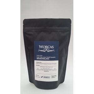 Minuman Kopi Arabica Mandheling 200 Gram (Biji) - Worcas Coffee
