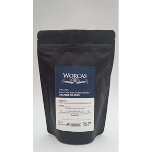 Coffee Arabica Mandheling Coffee drinks 200 grams (powder)-Worcas Coffee