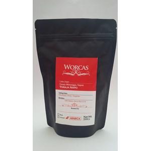 Dari Minuman Kopi Kopi Arabica Toraja 200 Gram (Biji) - Worcas Coffee 0