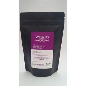 Minuman Kopi Kopi Arabica Java Ijen 200 Gram (Biji) - Worcas Coffee