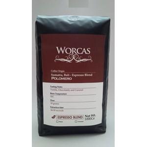 Minuman Kopi Polomero Espresso Blend 1 Kg - Worcas Coffee