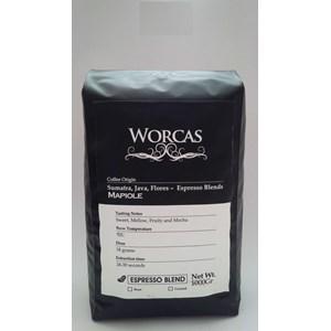 Minuman Kopi Mapiole Espresso Blend 1 Kg - Worcas Coffee