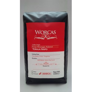 Toraja Arabica coffee liqueur 1 Kg-Worcas Coffee