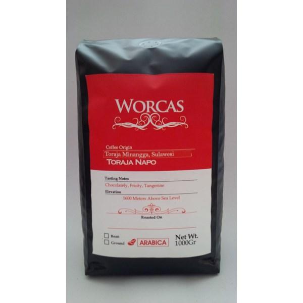 Minuman Kopi Kopi Arabica Toraja 1 Kg - Worcas Coffee