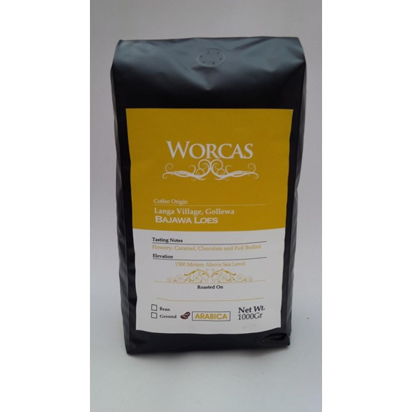 Drink Coffee Arabica coffee Bajawa 1 Kg-Worcas Coffee