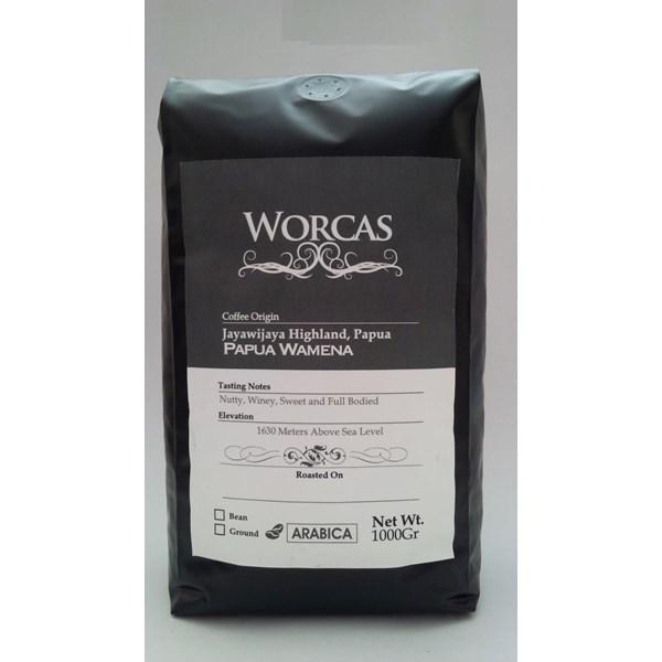 Minuman Kopi Kopi Arabica Papua Wamena 1 Kg - Worcas Coffee