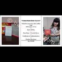 Jual Kopi Luwak Liar Gayo  Gift Box Medium Roast 100 Gr 2