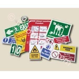 Sticker IMO dan Symbol Sign