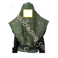 Masker Air Supplied Spray Painting Hood 1