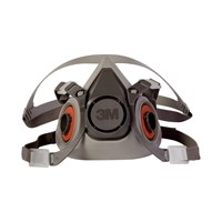 3M - 6200 Half Facepiece Reusable Respirator Protection