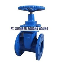 SOFT SEATED GLOBE VALVE DUCTILE IRON FLANGE