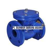 CHECK VALVE DUCTILE IRON FLANGED