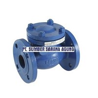 SOFT SEATED CHECK VALVE DUCTILE IRON FLANGED