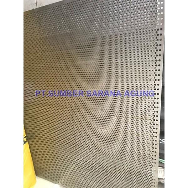 Plat Lubang plat perforated