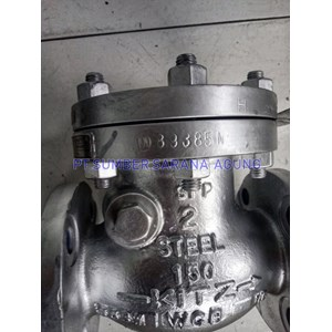 Swing check valve #150 carbon steel A216 WCB kitz