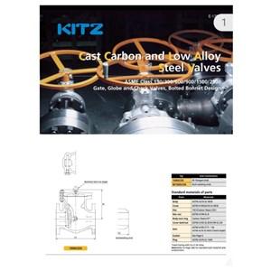Dari Swing check valve #150 carbon steel A216 WCB kitz 1