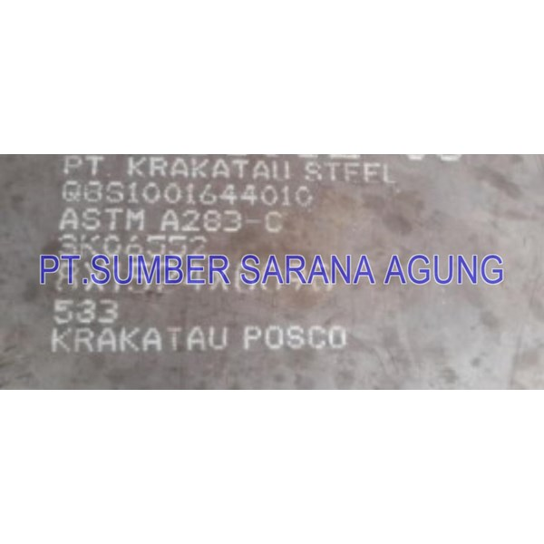 Plat Boiler A283 Grade C