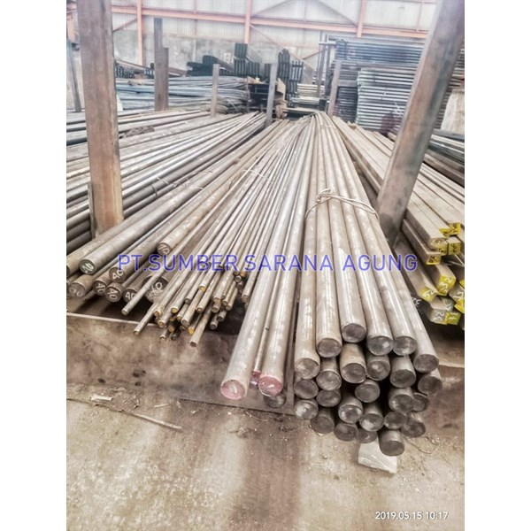 Shafting Bar @ 6M. Besi Asental (S 45 C)