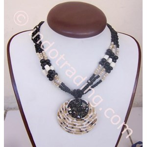 Export Necklace Shell Wood Indonesia