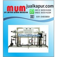 Mesin RO 20000 GPD plus pencucian membran