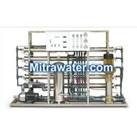 Mesin sterilisasi minuman RO 10000 Gpd setara 35000 Liter per hari