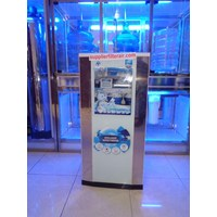 MESIN RO MODEL GLASS CABINET MERK AQUALIFE
