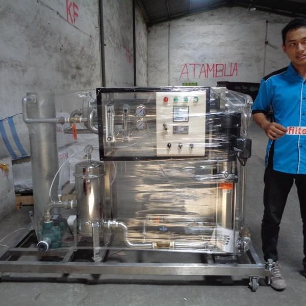 Jual Mesin Water Maker Air Payau Menjadi Air Tawar. Hubungi: CV. Mitra Water