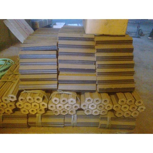 briket arang kayu heksagonal