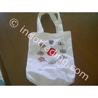 Jual Totte Bag Kanvas Blacu 2