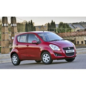Mobil Suzuki New Splash Red