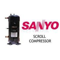 Kompresor Ac Sanyo Scroll Tipe Csb373h8a 1