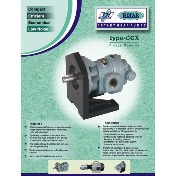 """Gear Pump Ropar CGX-125 - 1.25"""" x 1.25"""""""