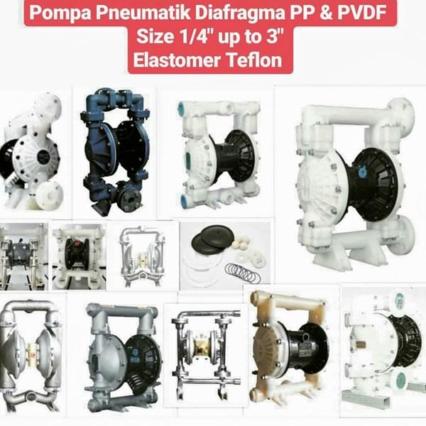 Pompa Diafragma - PVDF
