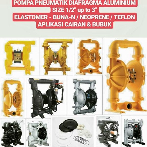 Pompa Diafragma - Aluminium