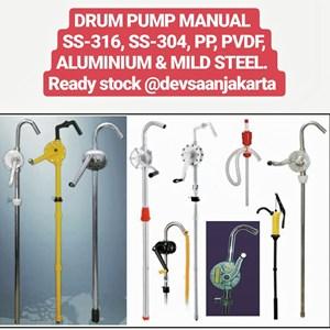 Manual Hand Drum Pump