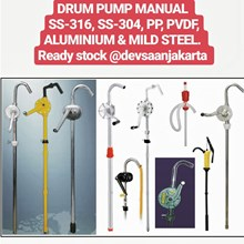 Hand Operated Drum Pump